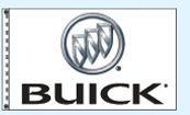 Checkers Double Face Dealer Logo Spacewalker Flag (Buick)
