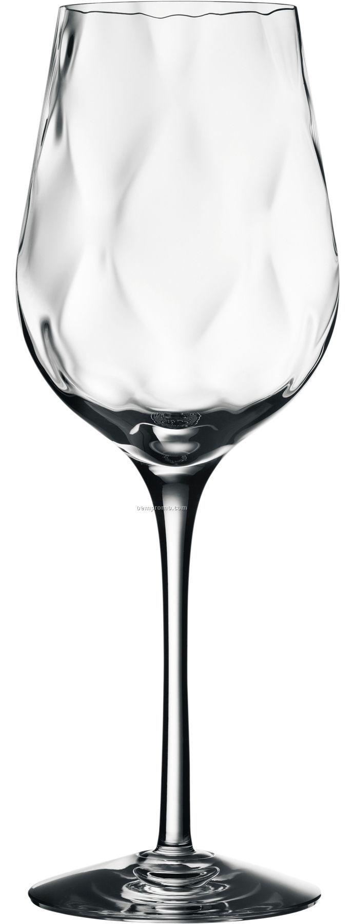 Dizzy Diamond Crystal White Wine Stemware By Malin Lindahl