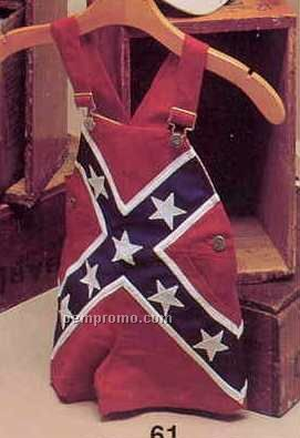 Confederate Flag Toddler Shortall (Small-large)
