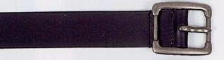 Men's Casual Leather Belt In 38 Mm Width