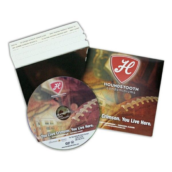 Replicated DVD In Printed Mailer