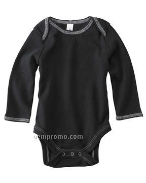 Bella Baby Infant 4.5 Oz. Long Sleeve Thermal One Piece