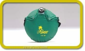 1-1/2 Quart Oasis Scout Oval Canteen With Carry Bag (Logo On Bag)