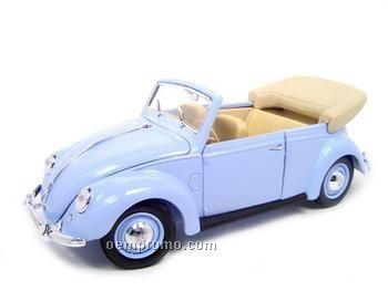 1951 Light Blue Volkswagen Die Cast Replica Vehicle