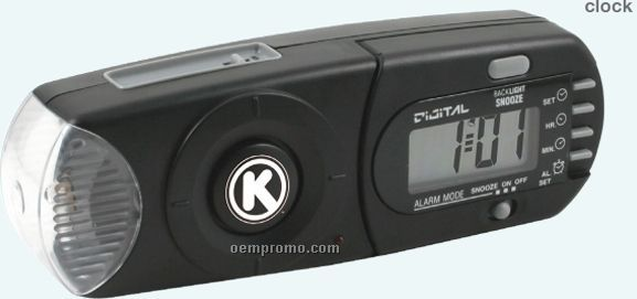 Personal Alarm Clock Warning System