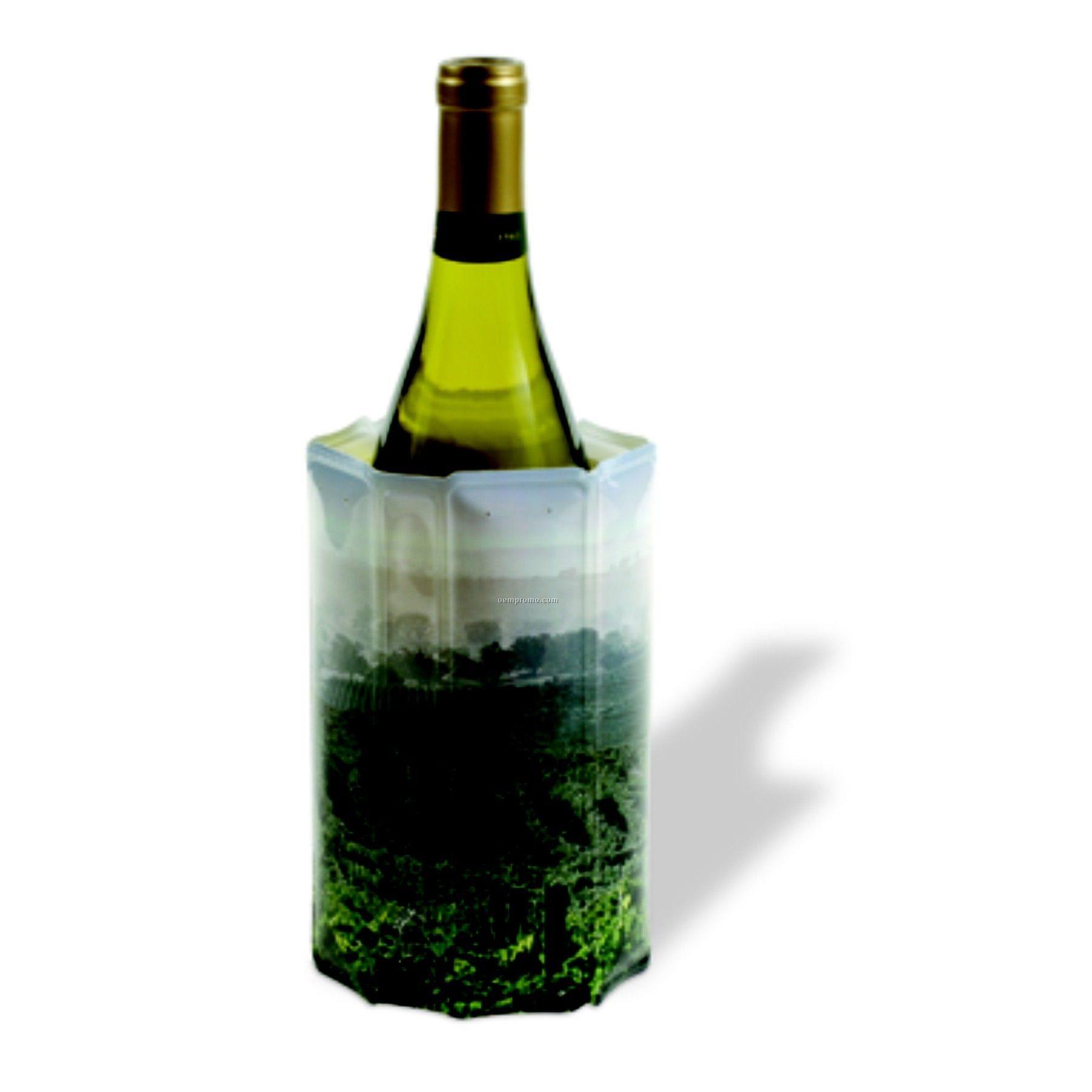 Rapid Ice Wine Chiller Sleeve With Vineyard Design