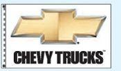 Checkers Double Face Dealer Logo Spacewalker Flag (Chevy Trucks)