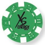 Green Poker Chip (Printed)