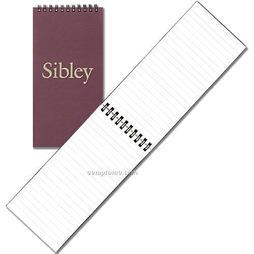 Large Spiral Notebook W/ Rugged Hard Cover