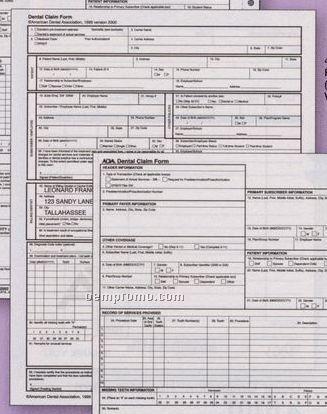 2000 Ada Claim Form - Laser Sheet (1 Part)