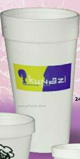 24 Oz. Foam Cup (High Speed Offset Printing)