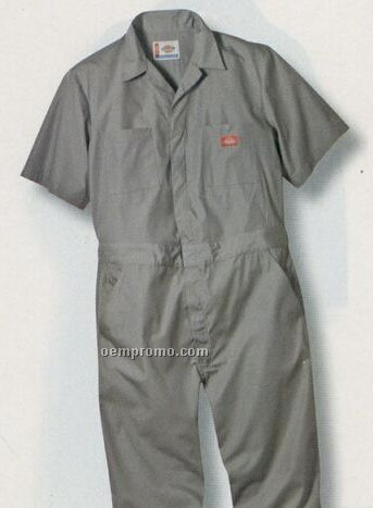 Dickies Short Sleeve Coverall (Red)