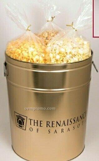 6 1/2 Gallon Butter Popcorn Tin