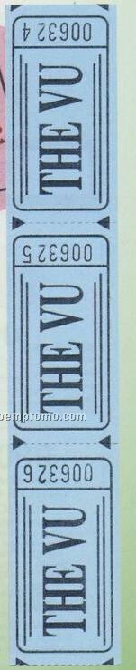 """Bristol Roll Tickets - 2""""X2"""" Jumbo Roll Tickets"""