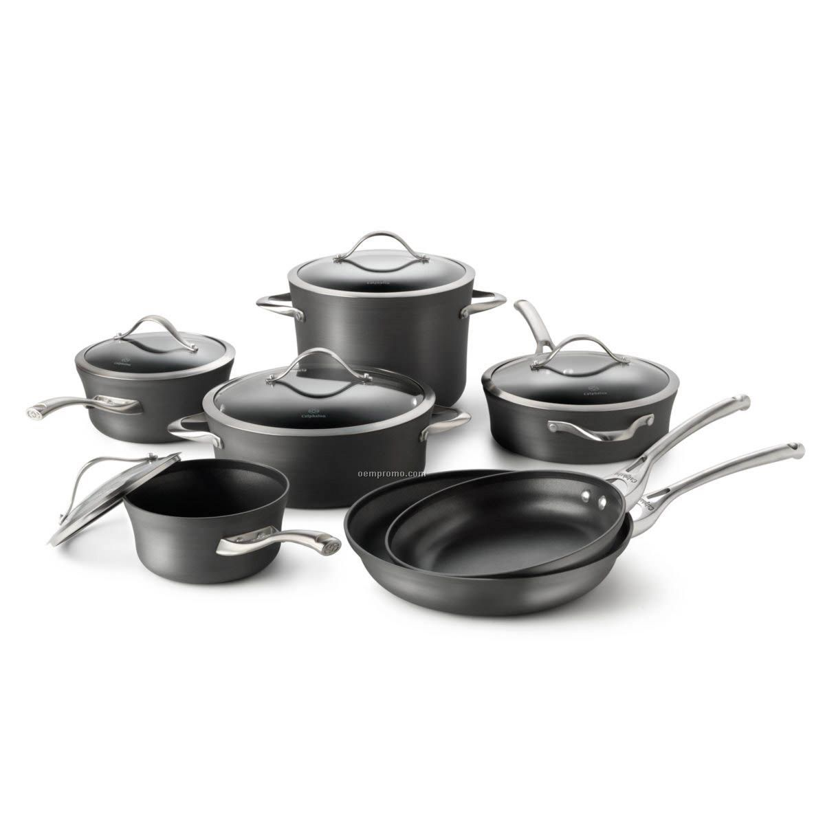 Calphalon 11 Pc Contemporary Non Stick Cookware Set China