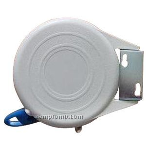Retractable Clothes Line In Round Plastic Case