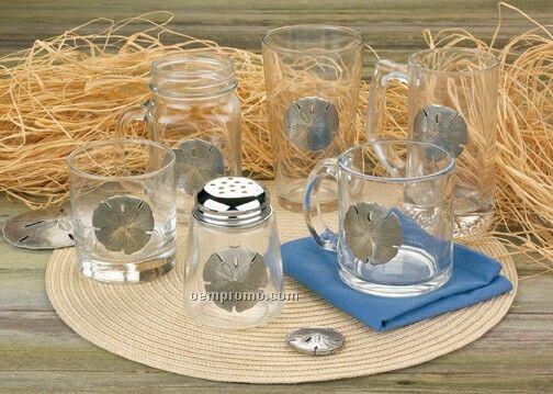 Sand Dollar Drinking Jar