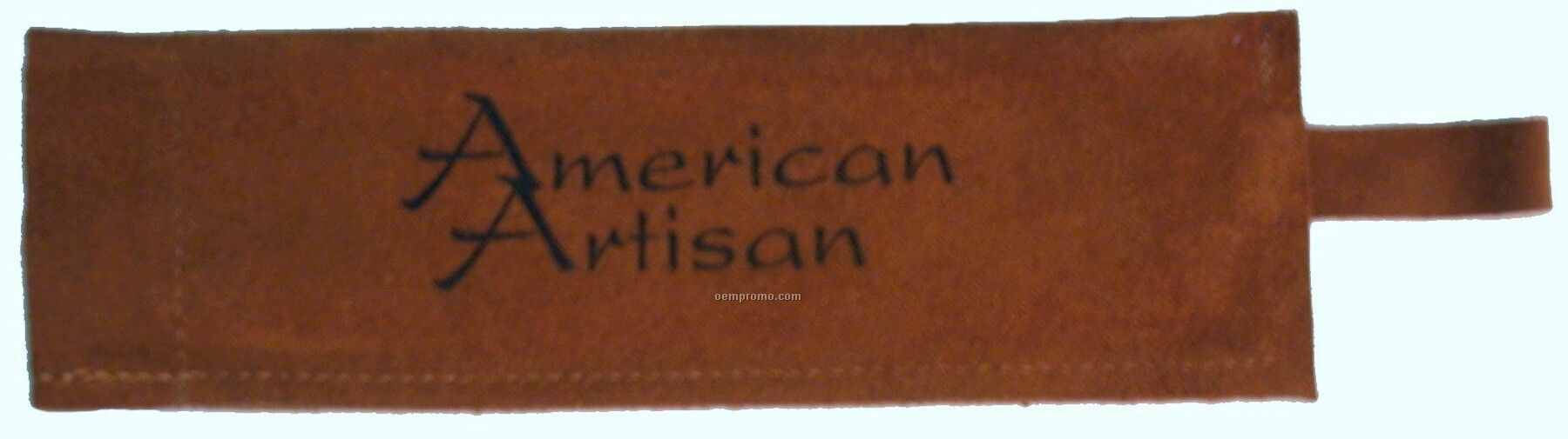 Suede Skillet/Bbq Sleeve, Laser Engraved, Washable (Tobacco)