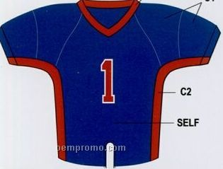 Youth Custom Football Jersey W/ Contrast Shoulder & Neck