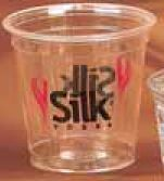 3.5 Oz. Clear Sampler Party Cup (Screen Printing)