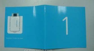 Custom 3 Panel Paper Web Key Brochure