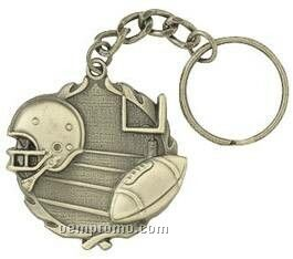 "Medal, ""Football"" - 1-1/4"" Key Chain"