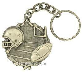 "Medal, ""Football"" - 1-1/4"" Key Chain"