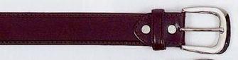 Men's Dress Belt With Cross Stitch