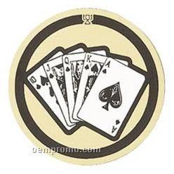 """Mylar - 2"""" Poker"""