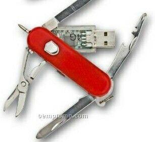 Pocket Knife Flash Drive (64 Mb)