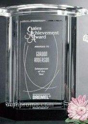 "Sable Gallery Crystal Vanessa Award (9"")"