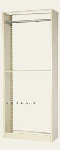 "Starter Cabinets W/1 Suspension Rail & Base Double Hook Files - 36""X36""X88"""