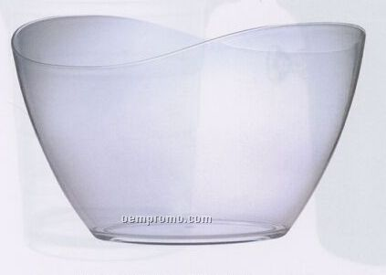 Tango Acrylic Ice Bucket With Curved Mouth