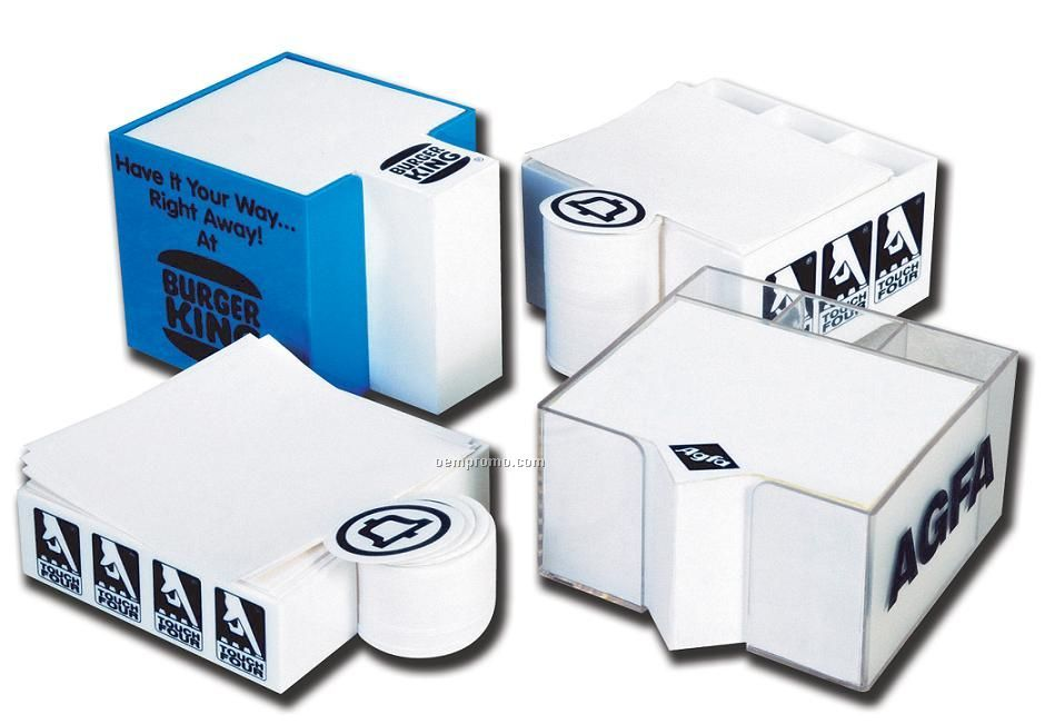 "Plastoform Acrylic Logo Box (4""X4""X4"")"