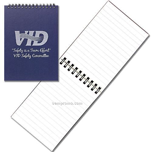 Small Spiral Notebook W/ Rugged Hard Cover