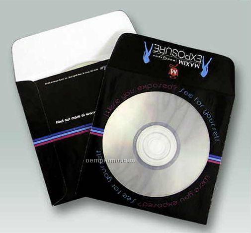 Custom Paper Window Media Envelope (1 Color)