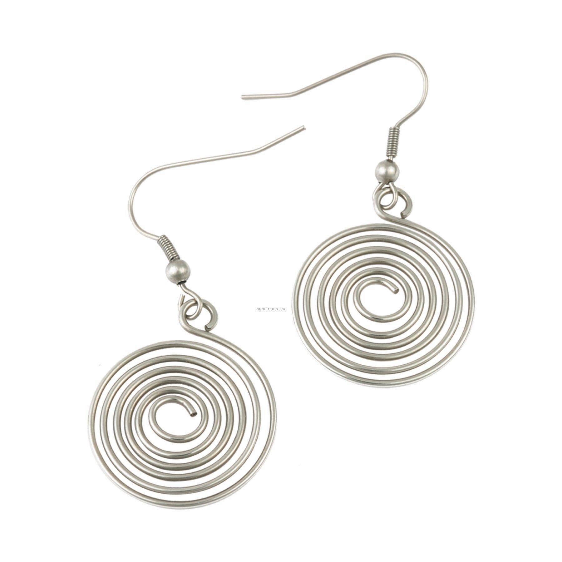 Earrings (Sterling Silver)