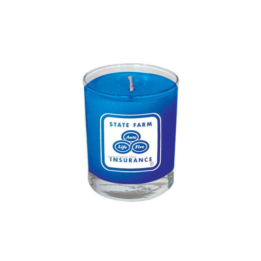 Hawaiian Paradise Votive Glass Soy Candle