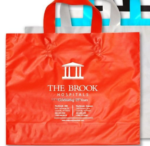 Patriot Flexi-loop Shopping Bag - 2.5 Mil Polyethylene (12