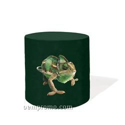 "30"" Round Digitally Printed Barrel Style Table Cloth - Royal"
