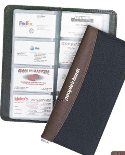 polycanvas business card file holder - Business Card File