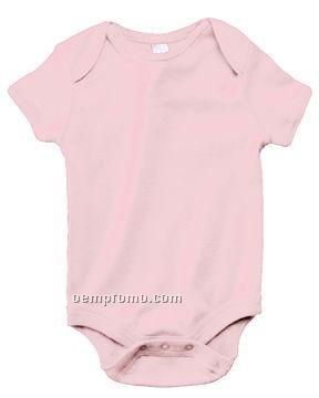 Bella Baby Infant 5.8 Oz. Baby Rib Short-sleeve One Piece (Heather)