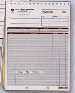 Spectra Collection Large Invoice (3 Part)