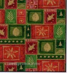 "417' Half Ream 24"" Christmas Mosaic Gift Wrap"
