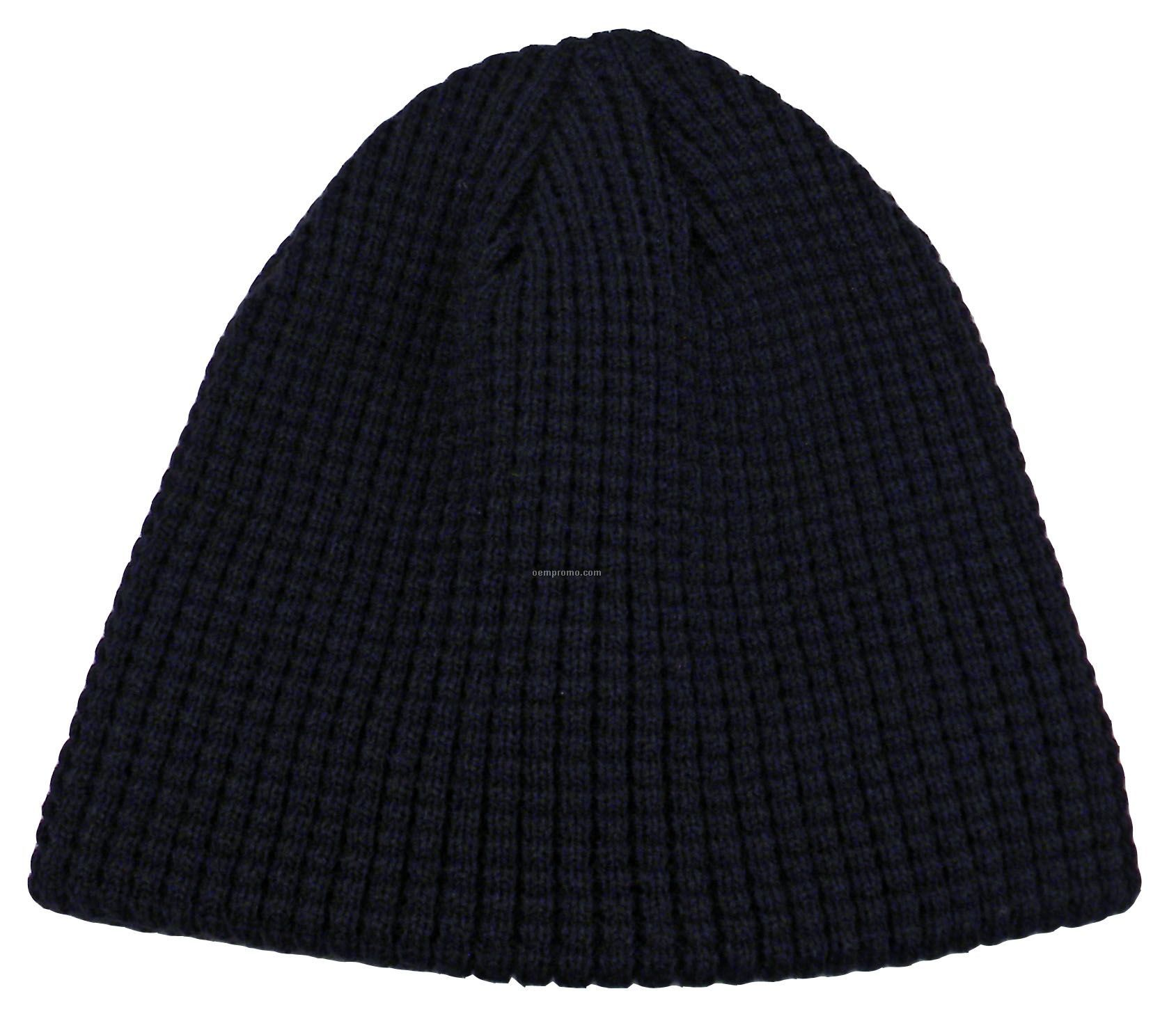 Solid Colored Big Bear Eco Beanie (Domestic 5 Day Delivery)