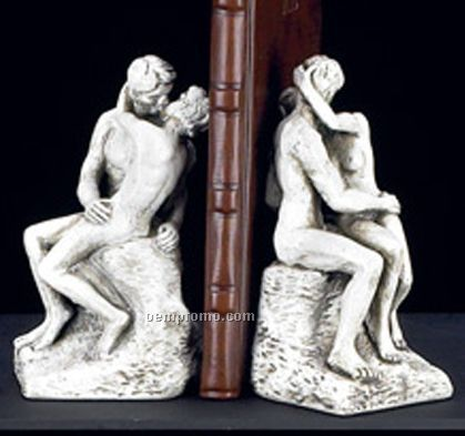"""""""The Kiss"""" Bookends"""