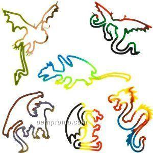 Dragons Silly Bandz