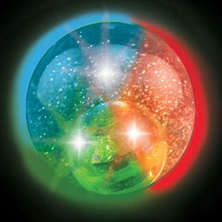 Iridescent Glitter Light Up Ball W/ Multi LED,China ...