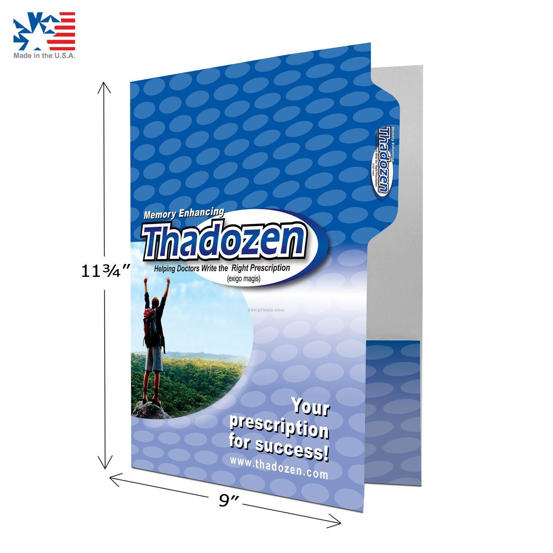 Pocket Folder With Tab