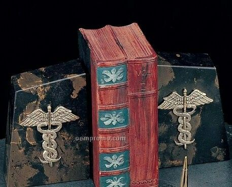 Medical Marble Bookend